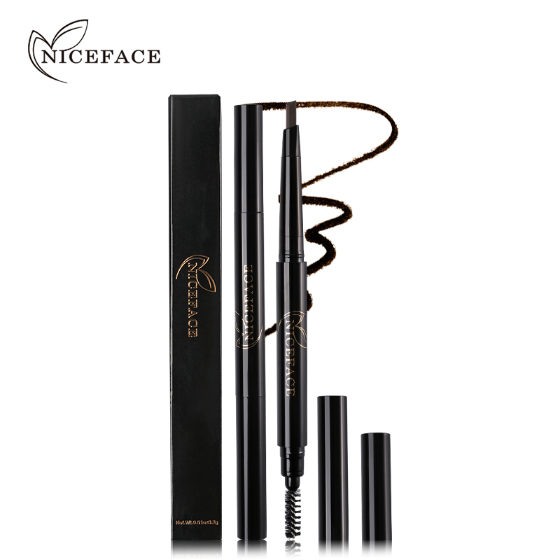 NICEFACE Pro Eyebrow Pencil Wodoodporna długotrwała poprawa brwi - Makijaż - Zdjęcie 2