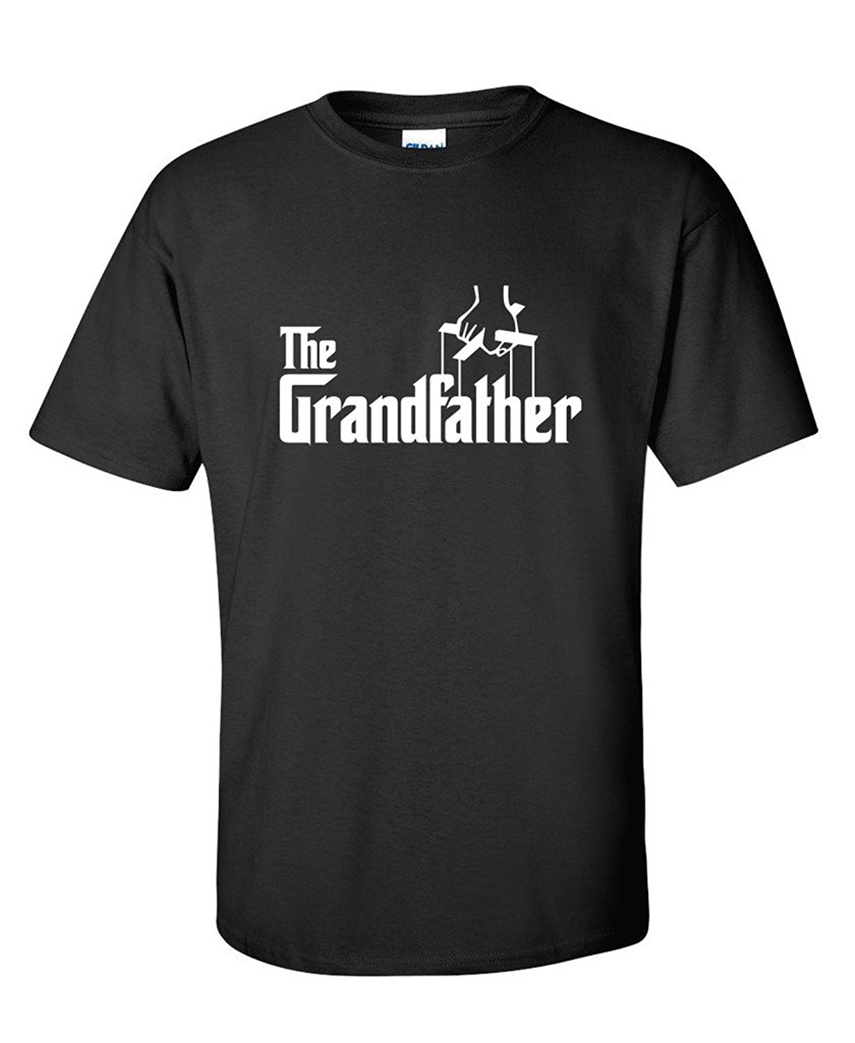 Gildan New Arrival Men T Shirt New O Neck Tee Shirt Short Sleeve The Grandfather Fathers Day Gift for Grandpa T Shirt