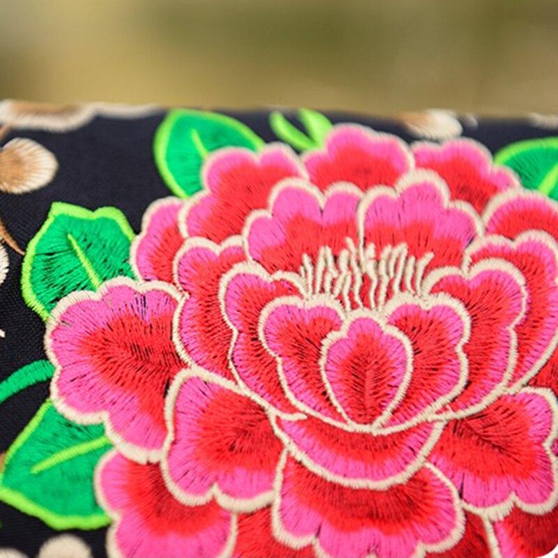 bordado pequeno bolsa de ombro Color : Red, Blue, purple