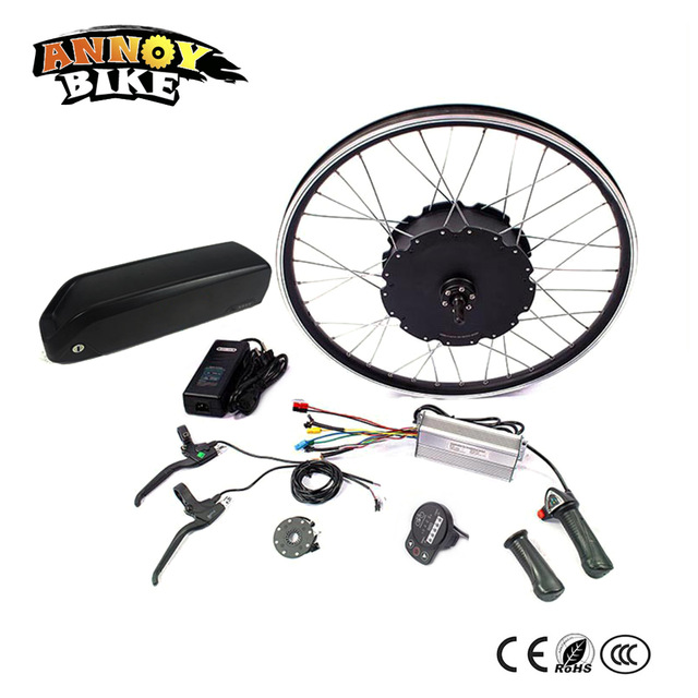 48V 1000W Electric Bicycle eBike Conversion Kits Motor Para Bicicleta 20 24 26 28 29 Rear / Front Wheel 48V 12Ah Battery