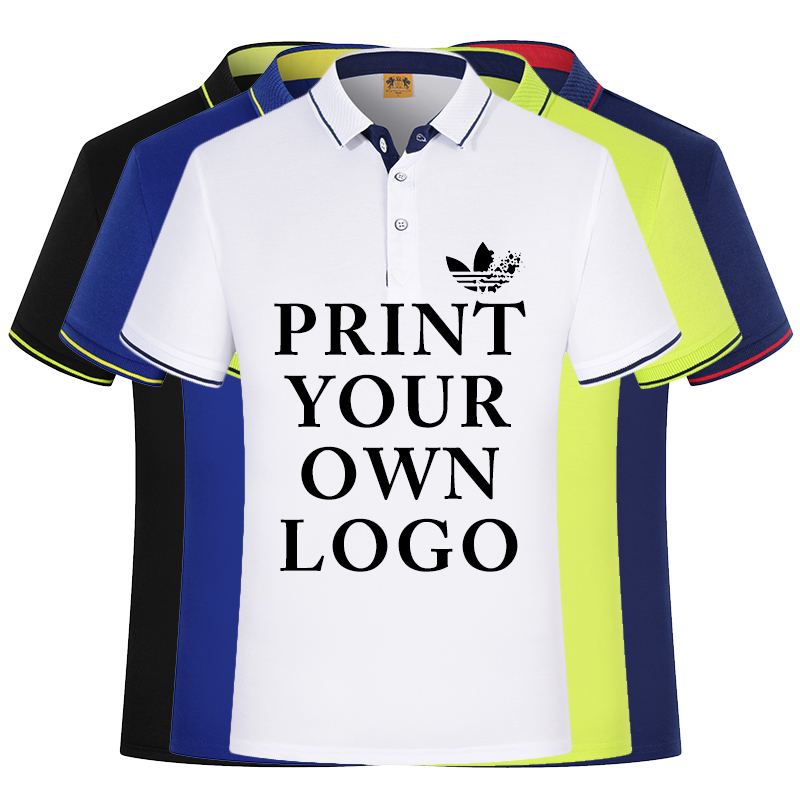 Silk Cotton Custom shirts For Your Family Team Primary Logo Team Color   Polo   College University Logo Design Personalized shirts