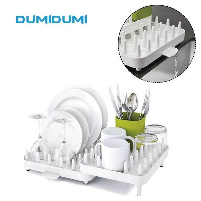 Connect Adjustable Dish Drainer Dish Drying Rack and Drainboard Set Integrated Spout Cutlery Holder Convertible -  sc 1 st  AliExpress.com & Connect Adjustable Dish Drainer Dish Drying Rack and Drainboard Set ...