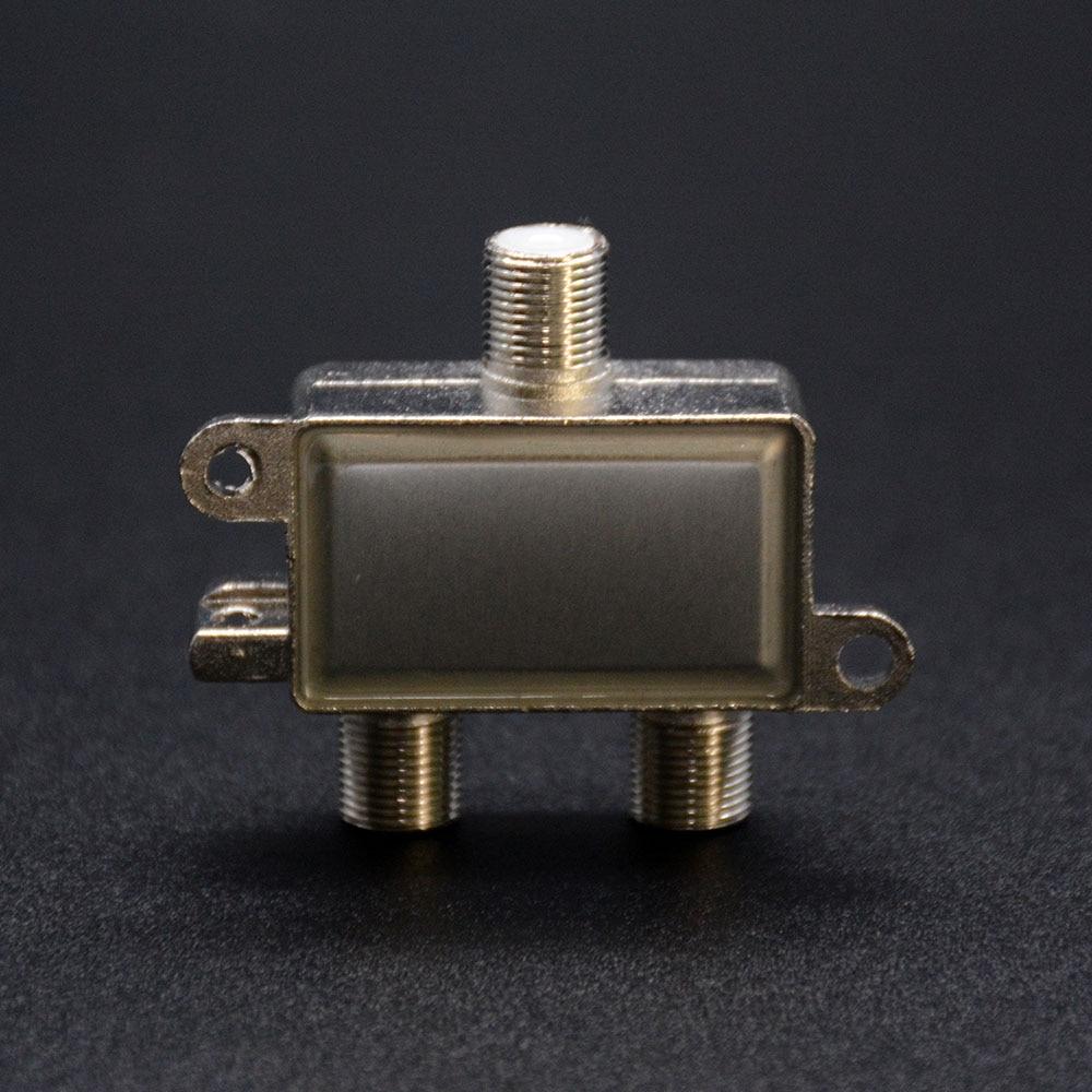 2 në 1 Sinjalizim Satelitor dyblexues Satellite Coaxial Diplexer UHF - Audio dhe video në shtëpi - Foto 4