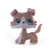 цена LPS Pet Shop Toys Dolls Cat Collie Dog Collection Stand Action Figures High Quality littlest Model Toys Gifts Cosplay Toys Girl онлайн в 2017 году