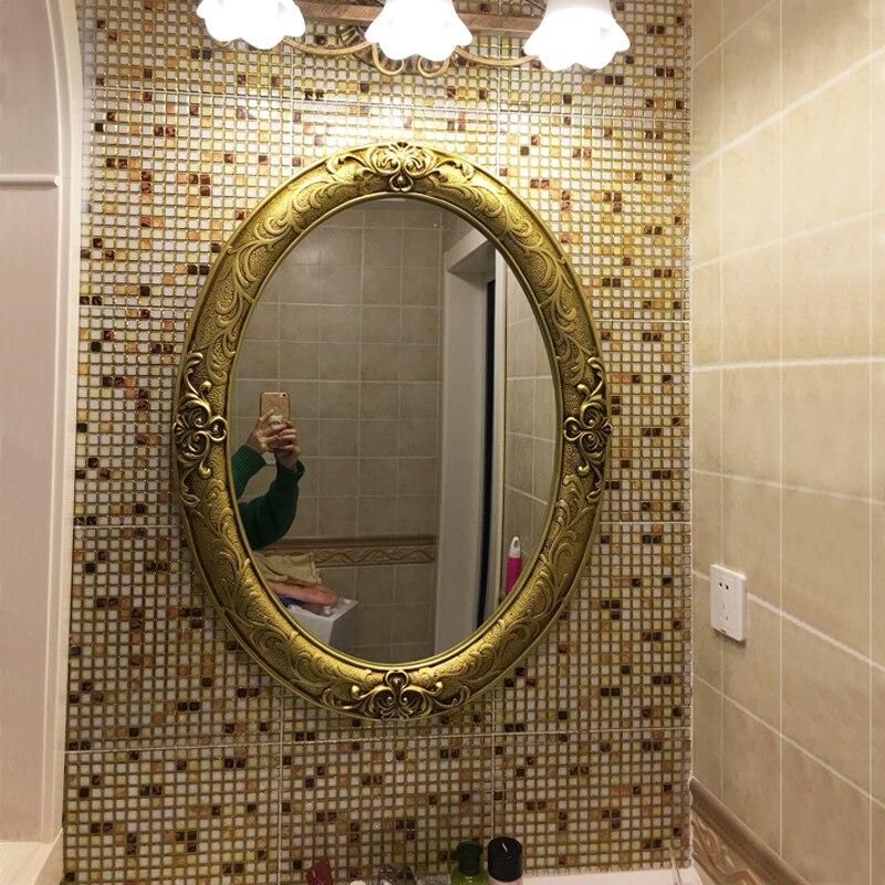 61.5cmx81cm European And American Retro Oval Bathroom ...