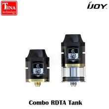 Оригинал iJoy комбо RDTA RDA RTA Sub Ом бак 6,5 мл емкость распылителя сбоку заполнение системы с IMC-2 IMC-3 двухслойные испаритель