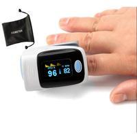 Top Grade Portable Digital Finger Pulse Oximeter Blood Oxygen SpO2 Saturation Oximetro De Pulso Fitness Pulse