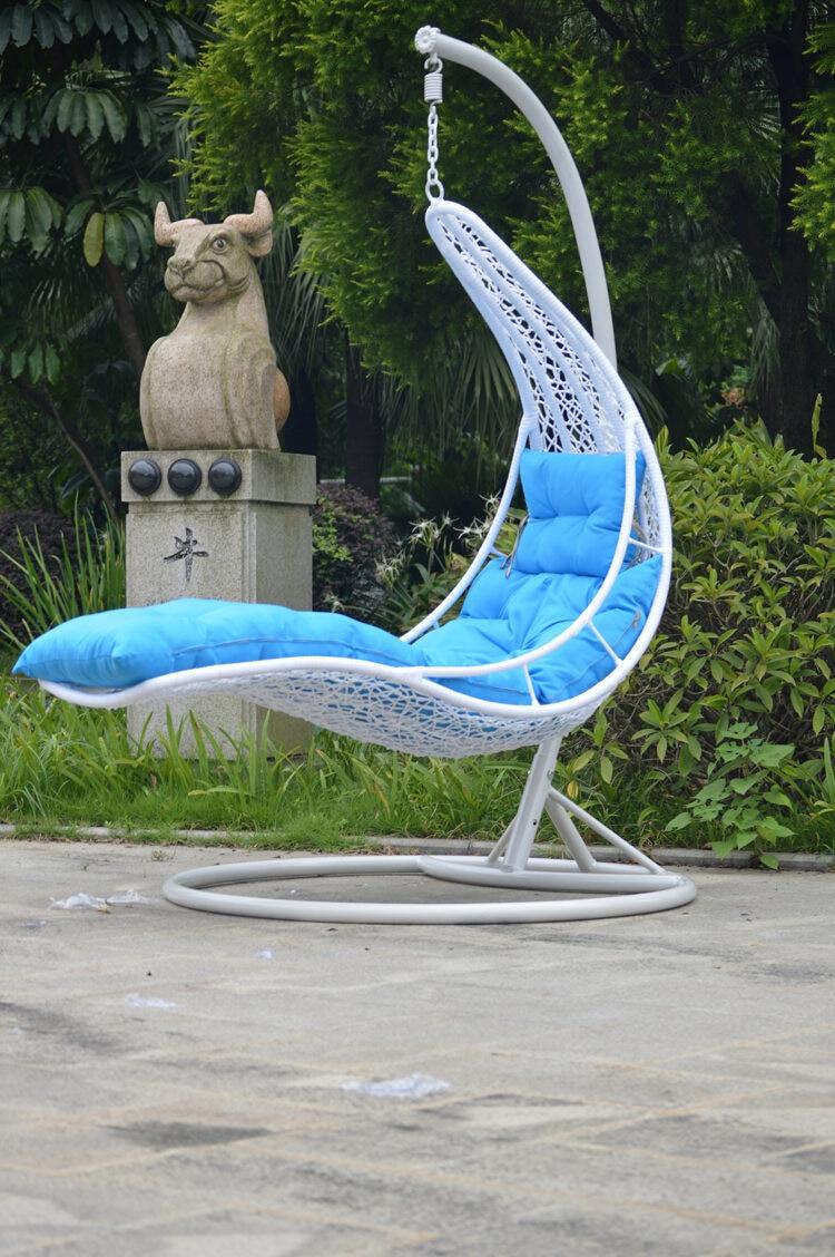 outdoor wicker swing chair black spandex covers rental bed factory direct hanging basket indoor leisure