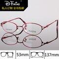 Pure titanium armações de óculos de olho para as mulheres de negócios high-end óculos óculos 8228 óculos de grau