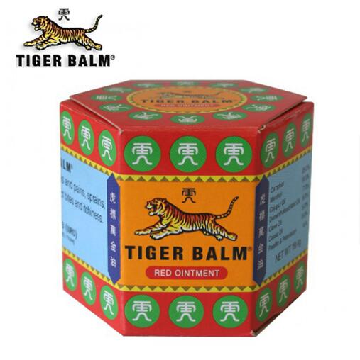 5pcs Red Tiger Balm Ointment 19 4g Thailand Painkiller Ointment Muscle Pain Relief Ointment Soothe itch
