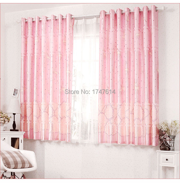 Captivating 2015 Hot Selling Fresh Style 2mhigh Short Curtains Finished Half Shading  Lovely Window Curtains Cloth ...