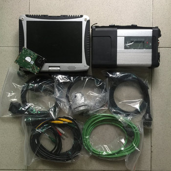 mb star diagnostic tool sd connect c5 with 2020.03 software 320gb hdd installed in cf19 laptop ready to use