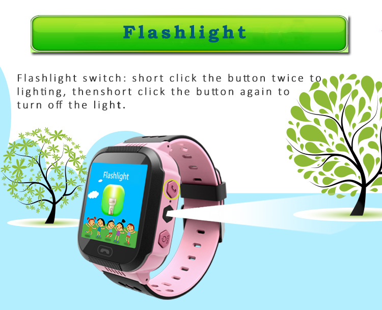 MOCRUX Q527 Smart watch Children Kid Wristwatch SOS GSM Locator Tracker Anti-Lost Safe Smartwatch Child Guard for iOS Android (3)