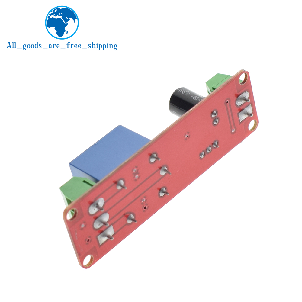 Tzt Ne555 Timer Switch Adjustable Module Time Delay Relay Dc 555 Circuit 12v Shield 010s In Integrated Circuits From Electronic Components