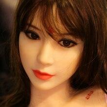 WMDOLL 56# oral sex doll head realistic silicone sex love doll head for 140-170cm body for male sex
