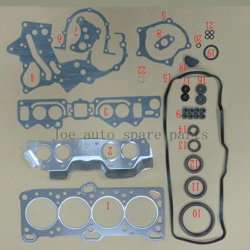 Clever G4ka G4kd Engine Full Gasket Set Kit For Hyundai Sonata Vi Ix35 Kia Soul Sportage 2.0l 2008-20910-25a00 2091025a00 50313800 Products Hot Sale Gaskets Full Set Gaskets