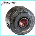 YONGNUO YN 50 мм F1.8 большой апертурой YN50mm автофокус объектив EF AF/MF Для DSLR Canon EOS 60D 70D 5D2 5D3 7D2 750D камеры