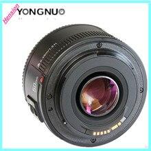YONGNUO YN 50mm F1.8 de gran apertura YN50mm enfoque automático lente EF af/mf para dslr canon eos 60d 70d 5d2 5d3 7d2 750d cámaras