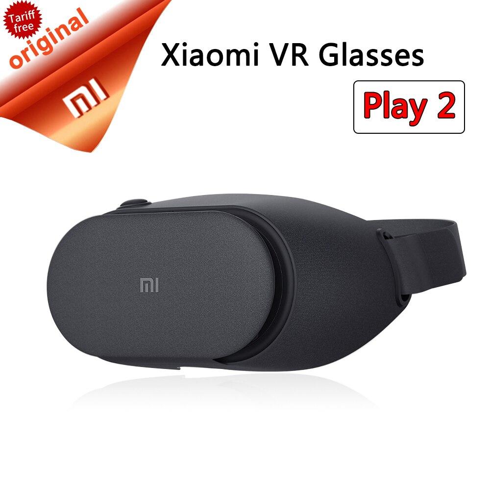 Новые Сяо Mi VR play 2 play2 оригинальный Mi виртуальной реальности Очки 3D Очки для 4.7-5.7 дюймов смартфоны в наличии