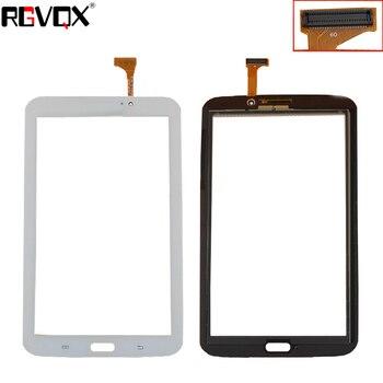 цена New For Samsung Galaxy Tab 3 7.0 SM-T210 SM-T211 T210 T211 Touch Screen Digitizer Sensor Glass Panel Tablet PC Black White онлайн в 2017 году