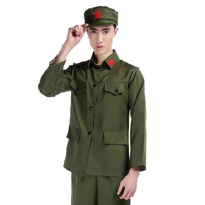 Military Uniform Red Army Uniforms Costumes Concert Performances