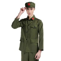 Military uniform Red Army uniforms costumes concert performances