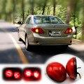 Для 2007-2010 Toyota Corolla/Korolla Автомобиля СВЕТОДИОДНЫЕ Задние Бампера Отражатель Света Парковка BrakeTail Легкий Круглый Фонарь Отражатели лампы