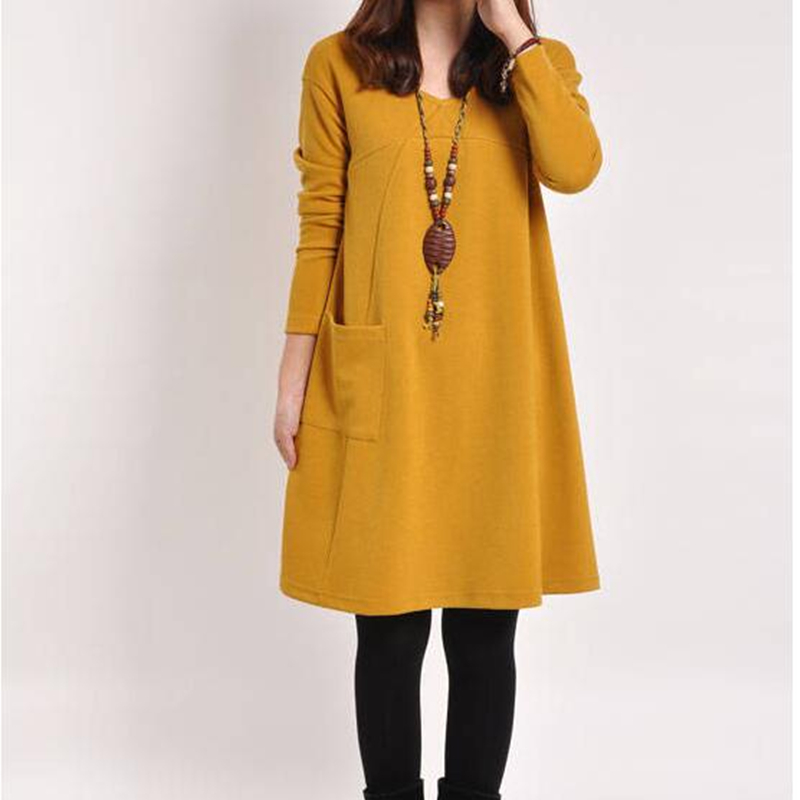 Korean Winter Fashion Dresses for Women