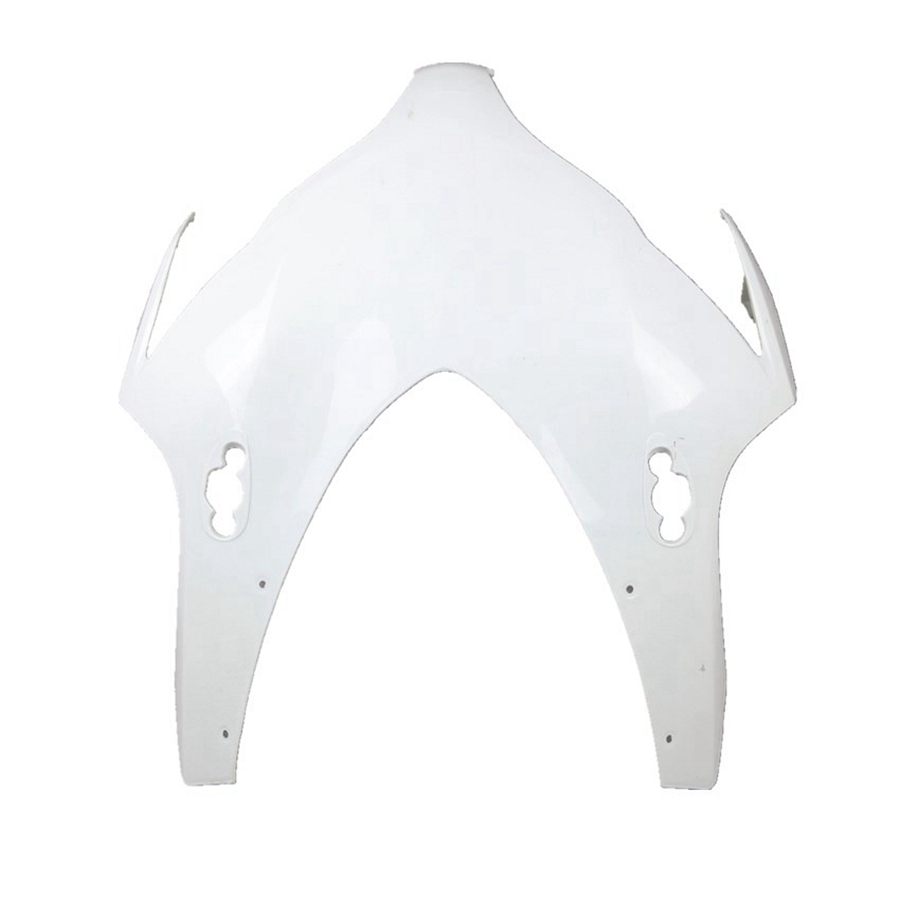 Unpainted Upper Front Fairing Cowl Nose For Honda CBR1000RR 2008 2009 2010 2011 ABS Plastic White Motorcycle Accessories real multi functions big men s watch japan mov t hours business top homme clock stainless steel boy s birthday gift julius box