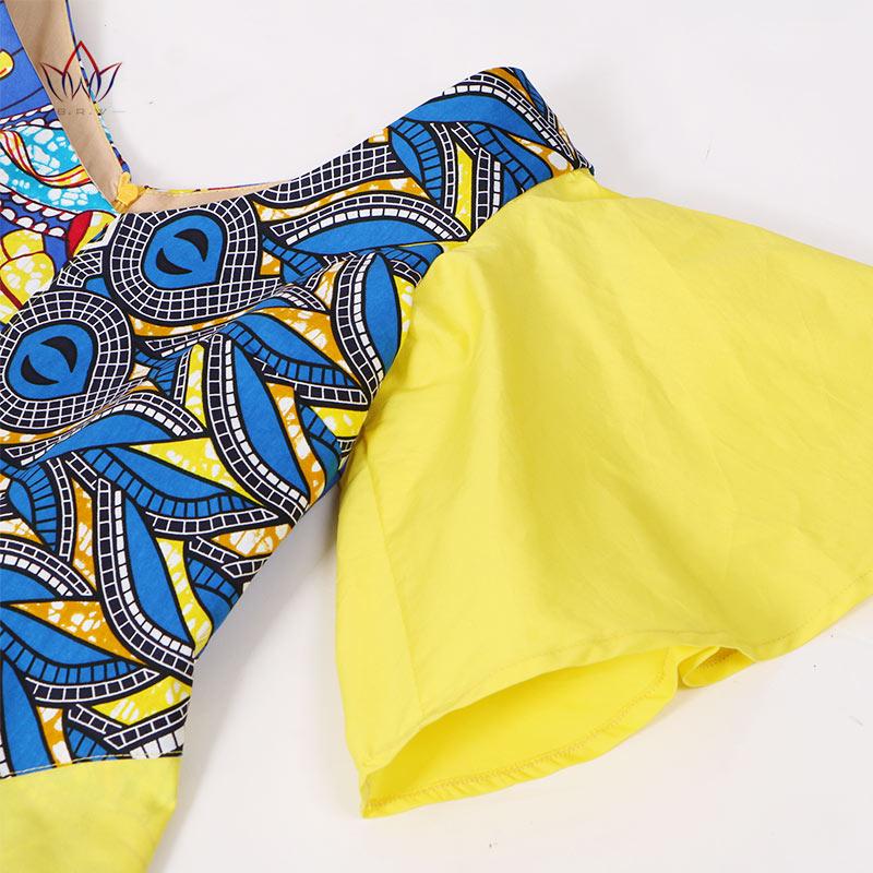 Veshjet e shtypura afrikane Veshja e gjate pa mëngë për gratë që - Veshje për femra - Foto 4
