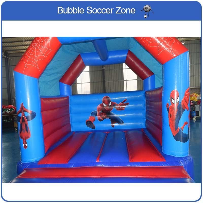 лучшая цена Free Shipping Children Inflatable Bouncer House Inflatable Bouncer Castle Jumping Castle Children Trampoline free a Blower