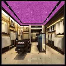 12m one roll cheap glitter colourful wallpaper glitter