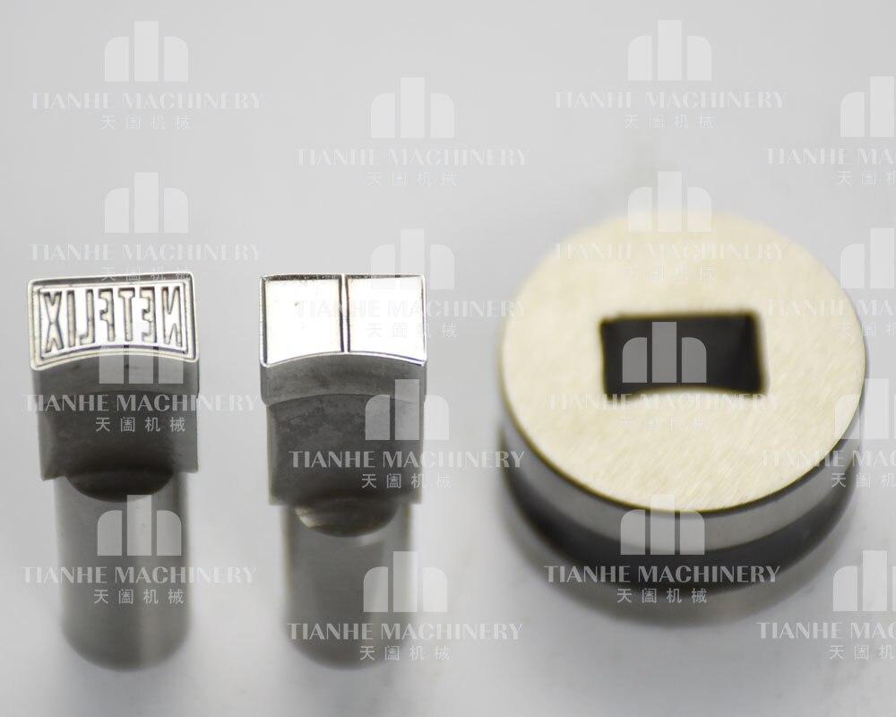 3D NETTO briefmarkenform/sterben set/punch für die tablettenpresse maschine/tablet pressmaschine