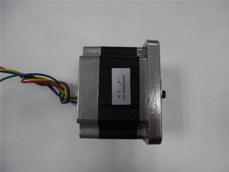 Ratio1:10 NEMA34 4A 3NM 429oz-in L 66mm Gear reducer Stepper Motor CNC Router New In Box ratio 10 1 gear stepper motor nema34 stepping motor with gearbox 3nm 4a 86byg l66mm shaft 15mm for cnc router new