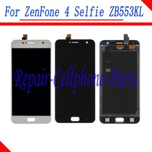New Full LCD display + Touch screen digitizer assembly Replacement parts For Asus ZenFone 4 Selfie ZB553KL X00LD X00LDA