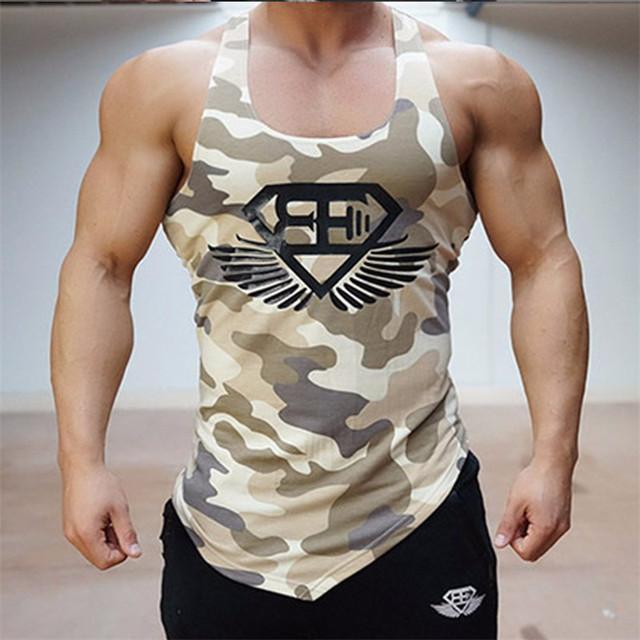2016 mais nova marca de vestuário SER irmãos Homens Regata Longarina Musculação vest Muscle Tanque Sirts Deslizamentos homens Vestuário Esportivo
