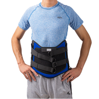 HKJD Adjustable Lumbar Support Medical Pain Relief Belt with Support plate Waist Supports for using after spinal surgery