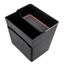 自動車車の収納トランクバッグセンターコンソールごみオーガナイザー収納ボックスビンアクセサリー用テスラモデル 3 インテリア