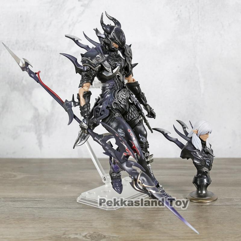 """Final Fantasy XIV FF14 DRAGOON 7 """"Schaal Action Figure Estee twee Anne PVC Geschilderd Pop Speelgoed Collectible-in Actie- & Speelgoedfiguren van Speelgoed & Hobbies op  Groep 3"""