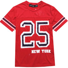 Male teenagers T shirt Students Jerseys Short sleeve T-shirt Embroidery young man daily Fashion Jerseys Mens hoody Breathable