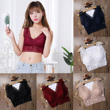 Womens Lace Floral Crop Top Sexy Fashion Camisole Sleeveless Tank Top Ladies Sexy Hollow Out Tanks
