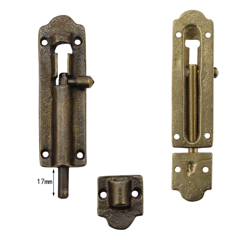 Chinese Antique Bronze Window Door Bolt Brass Furniture Kitchen Cabinet Bolt  Copper Bolt Latch Buckle Hardware-in Furniture Bolts from Home Improvement  on ... - Chinese Antique Bronze Window Door Bolt Brass Furniture Kitchen