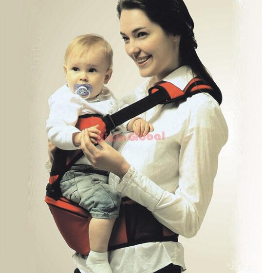 Infant Baby Hip Seat Hugger Carrier for Toddler Belt Sling (1)