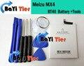 Meizu mx4 batería 3100 mah bt40 100% nuevo accesorio de reemplazo de alta calidad para meizu teléfono móvil + herramientas-en stock