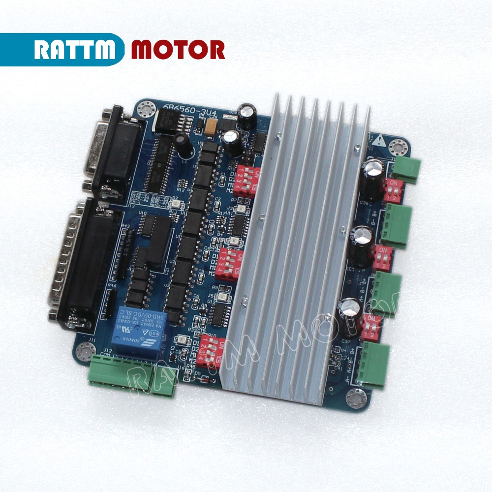 TB6560 4 Working Model 0.8-3.5A 3 Axis Stepper Motor Driver Optocoupler Isolated Stepping Motor Driver Module Motor Driver