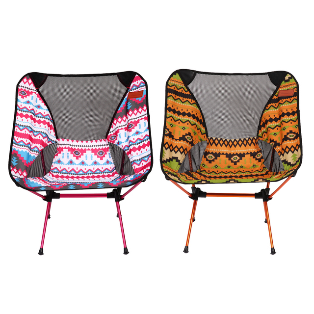 Portable Adjustable Fishing Chairs Lightweight Folding Fishing Outdoor  Camping Chair With Storage Bag For Picnic Beach
