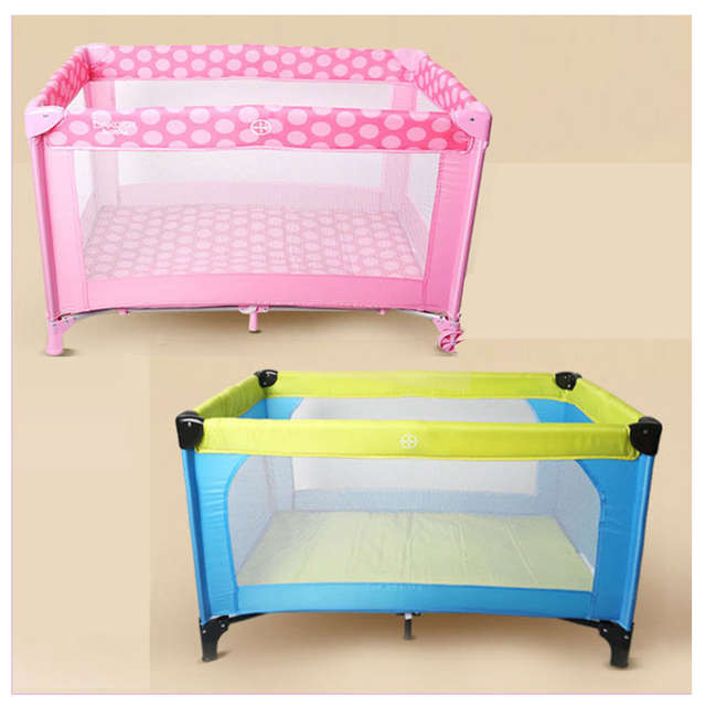 Online Shop Newborn Baby Portable Foldable Children Game Bed Trolley