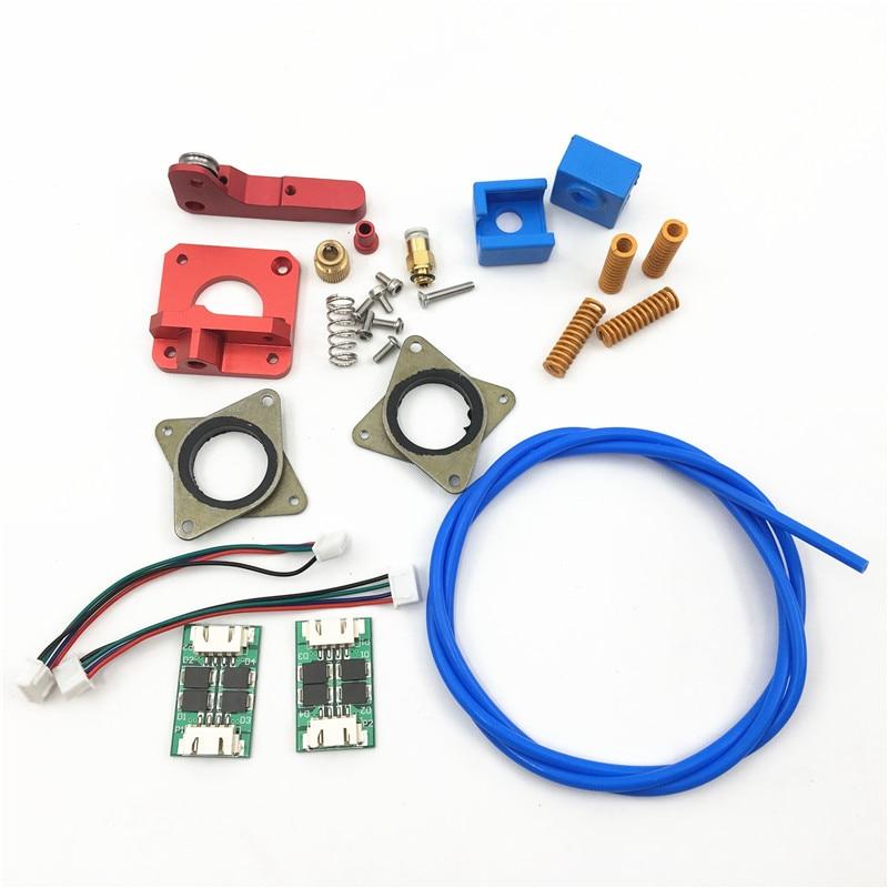 3D Printer Parts Creality Ender 3 Upgrade Kit Springs Extruder Sock Tube Stepper Dampers Smoother 1.75MM filament