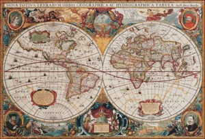 Image 2 - Map of the World   Counted Cross Stitch Kits   DIY Handmade Needlework For Embroidery 14 ct Cross Stitch Sets DMC Color