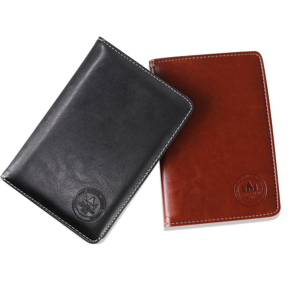 Craftsman Golf Scorecard Holder Yardage Book Scorecard Holder Golf Leather Waterproof Durable Free Shipping